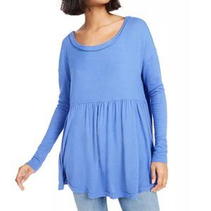 NEW Free People Forever Your Girl Babydoll Tunic